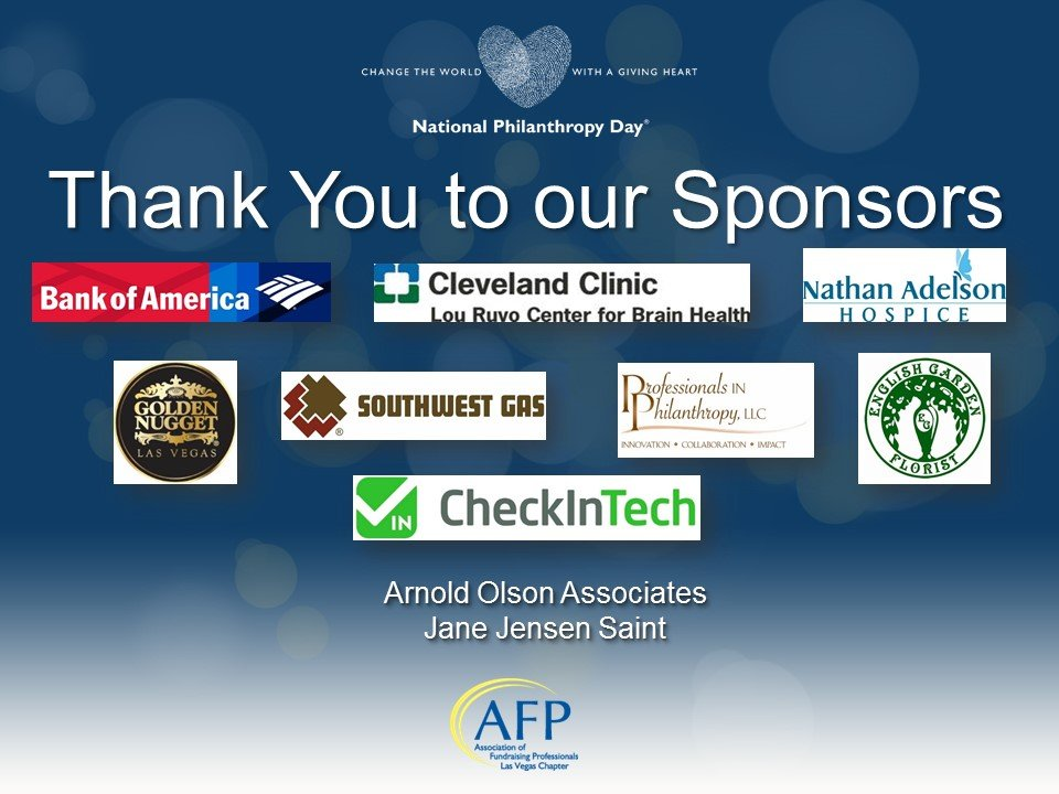 NPD Sponsors